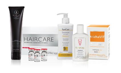Podpůrné preparáty na ochranu vlasů
