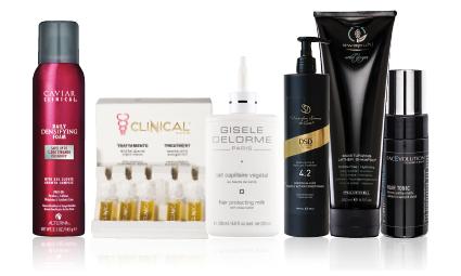 přípravky pro domácí péči o vlasy