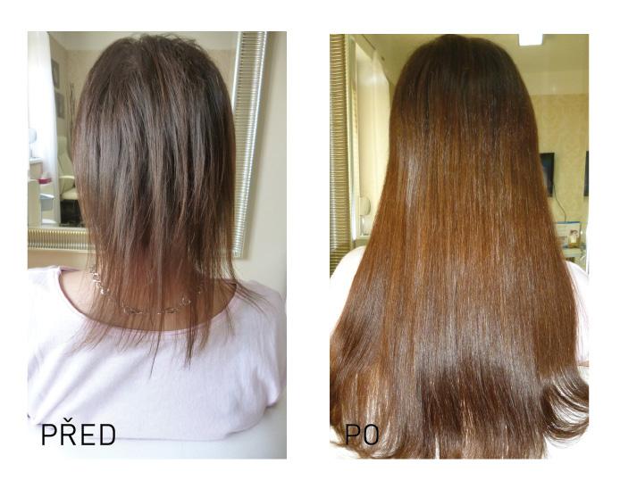 prodlužování jemné vlasy