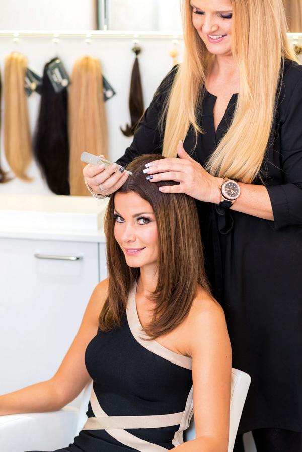 stop padání vlasů