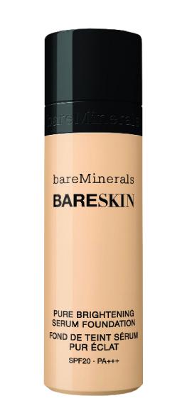bareskin pure brightening serum foundation bareminerals