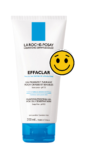 effaclar purifying foaming gel la roche posay