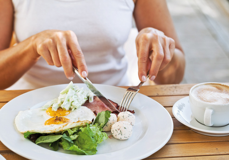 snídaně zrychluje metabolismus